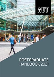 Cover of Postgraduate Handbook 2021
