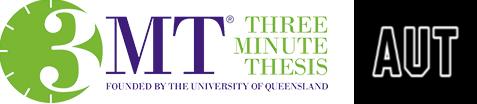 3MT Logo and AUT Logo