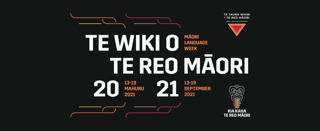 Te Wiki o Te Reo Māori poster
